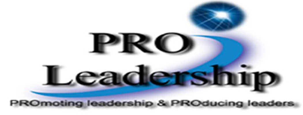 <blockquote>To know PRO Leadership's mission, vision, values, &amp; leadership team, check the About Us page.</blockquote>