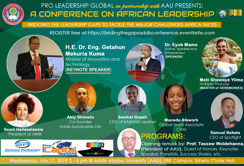 PRO Leadership » Launching Conference in Addis Ababa